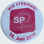 SP Frauen streiken am 14. Juni 2019