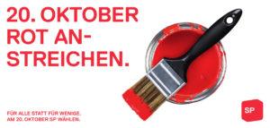 SP wählen am 20. Oktober